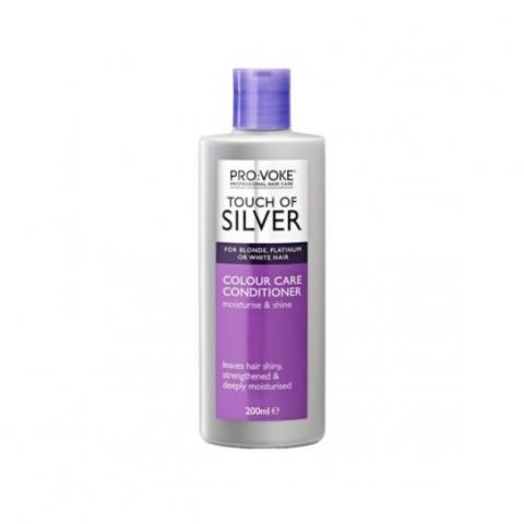 مكيف بروفوك عناية بالون الشعر 200مل touch of silver